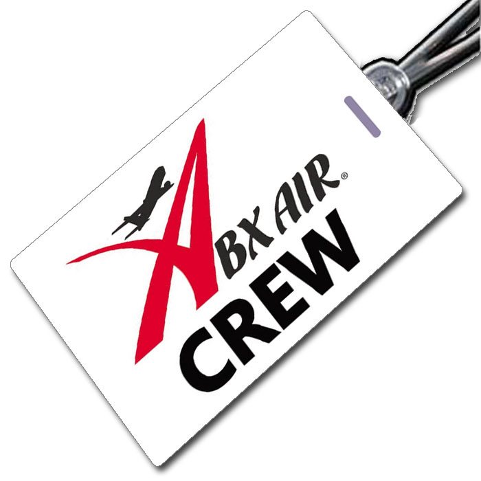 ABX Airlines Crew Tag