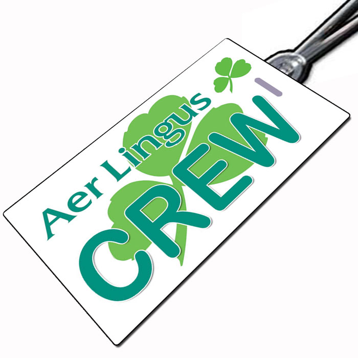 AER LINGUS (approved) Crew Tag