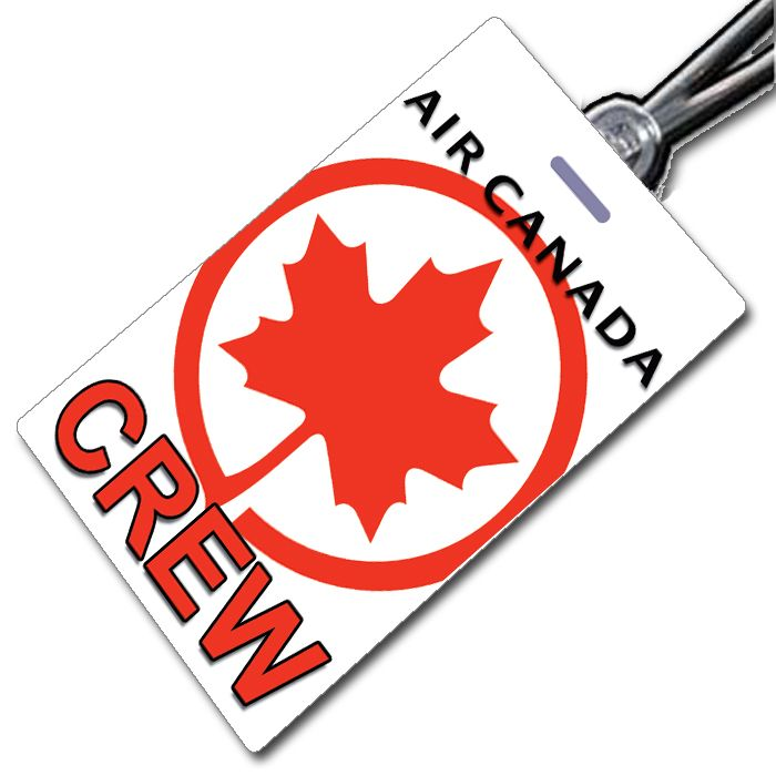 AIR CANADA Crew Tag (portrait)