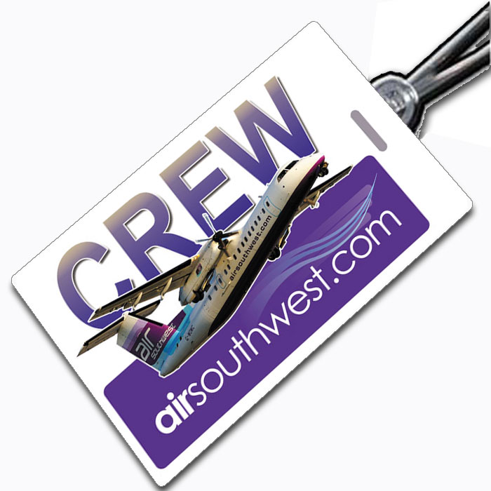 AIR SOUTHWEST Crew Tag