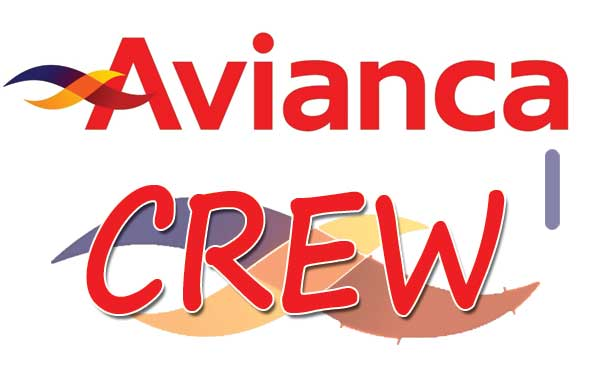 AVIANCA Crew Tag