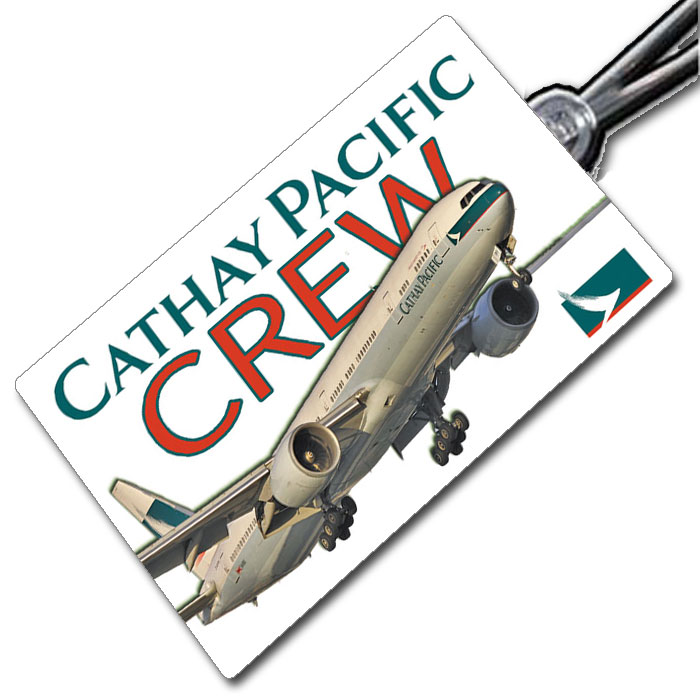 Cathay Pacific 777-300 tag