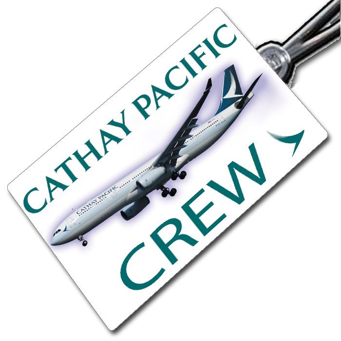 Cathay Pacific A330 tag