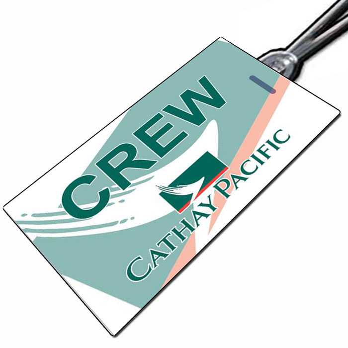 Cathay Pacific Crew Tag