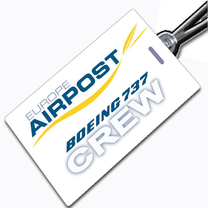 EUROPE AIRPOST Crew Tag