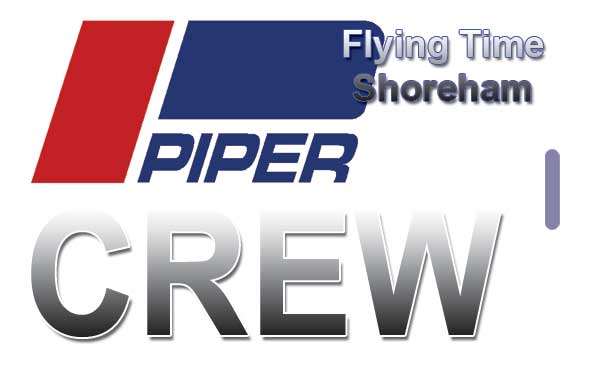 FLYING TIME Piper - crew tag