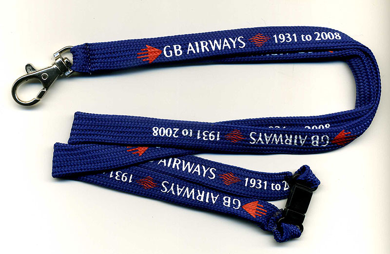 GB AIRWAYS *SPECIAL EDITION* Lanyard