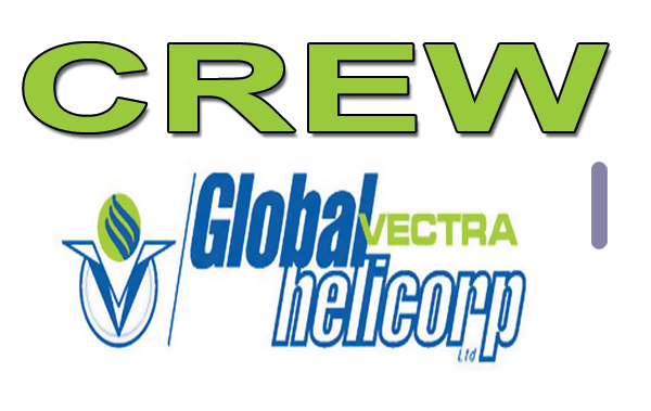 GLOBAL VECTRA HELI Crew Tag