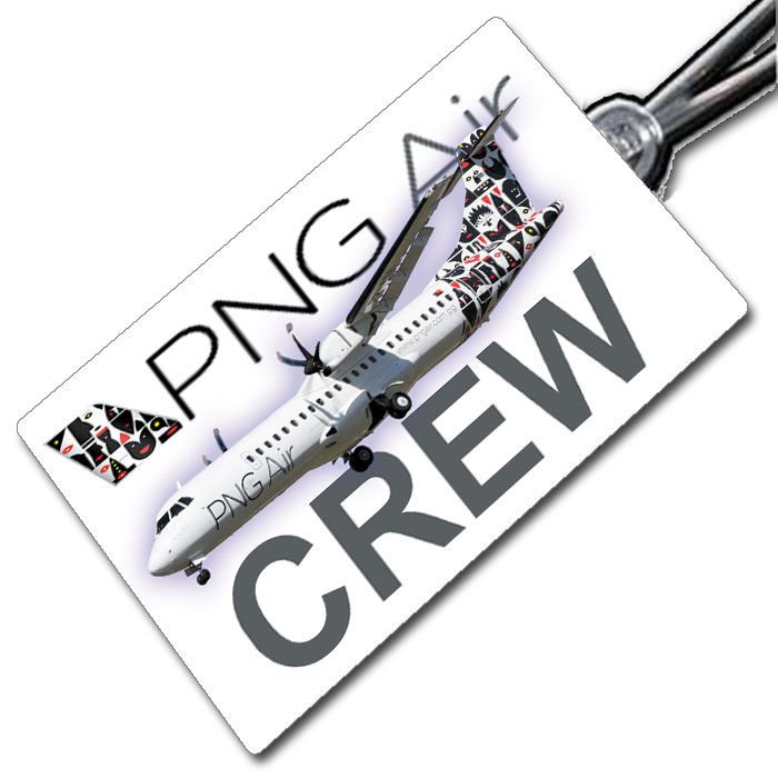 PNG AIR ATR72 Crew Tag
