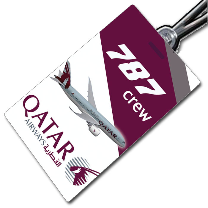 Qatar Airways 787 Crew