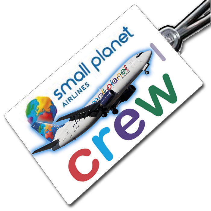 Small Planet 737 Crew Tag