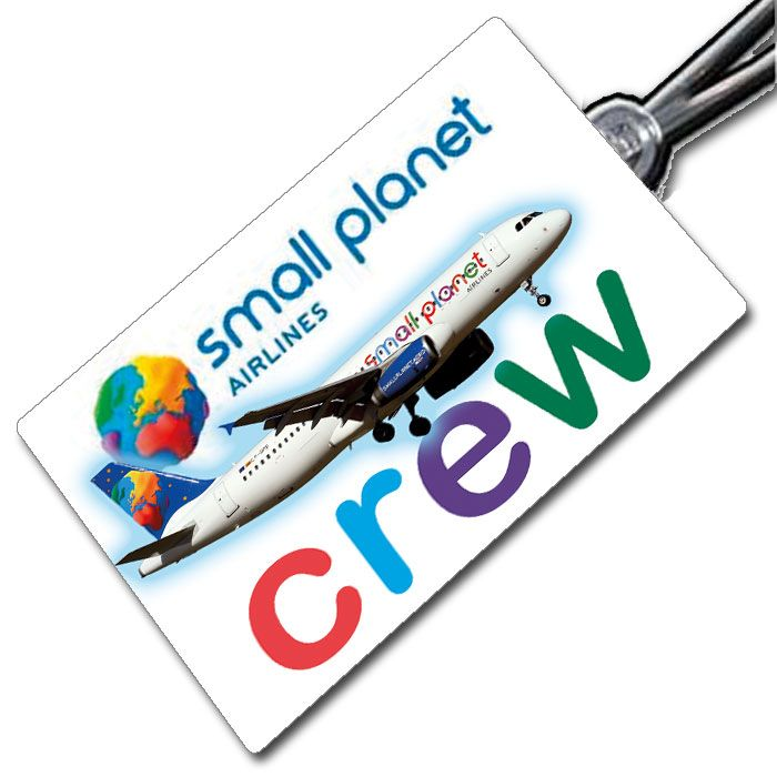 Small Planet A320 Crew Tag