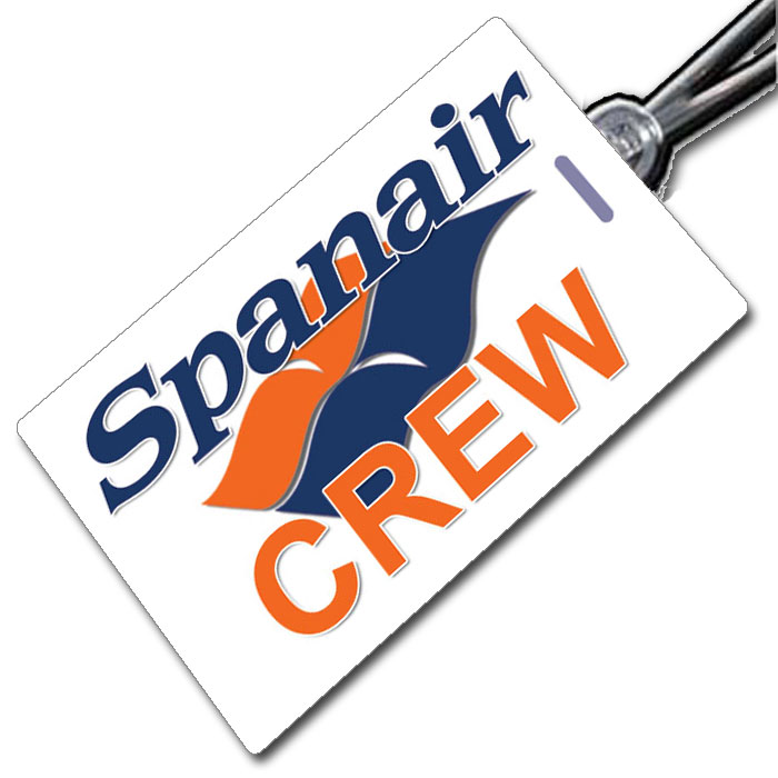 SPANAIR (old) Crew Tag