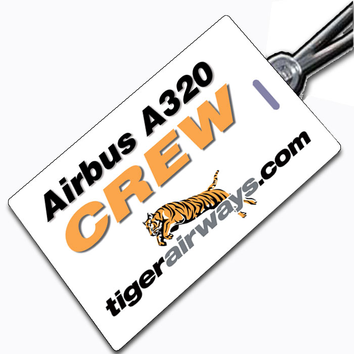TIGER AIRWAYS A320-CREW Tag