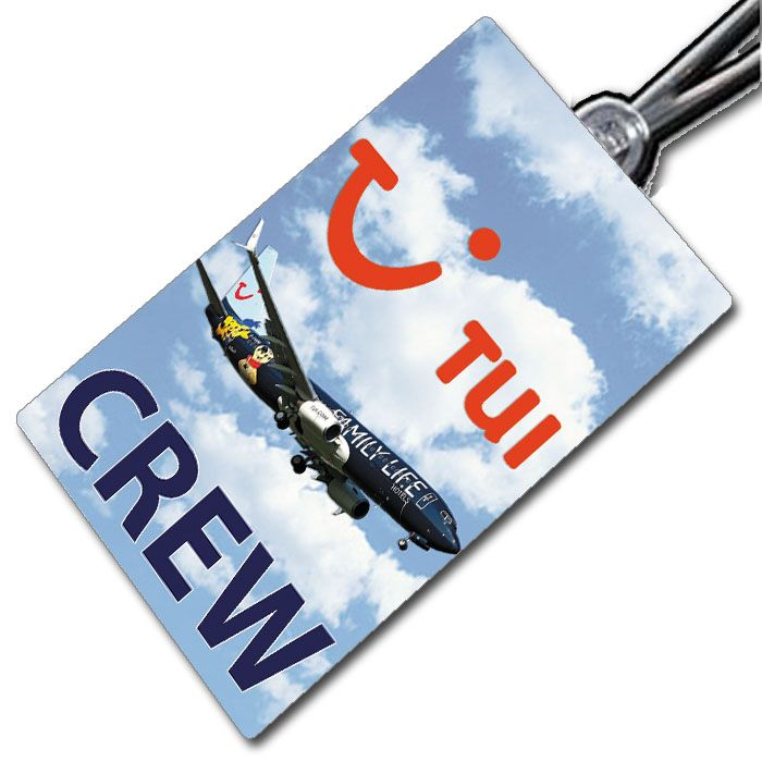 TUI UK FAMILY LIFE 737 crew tag