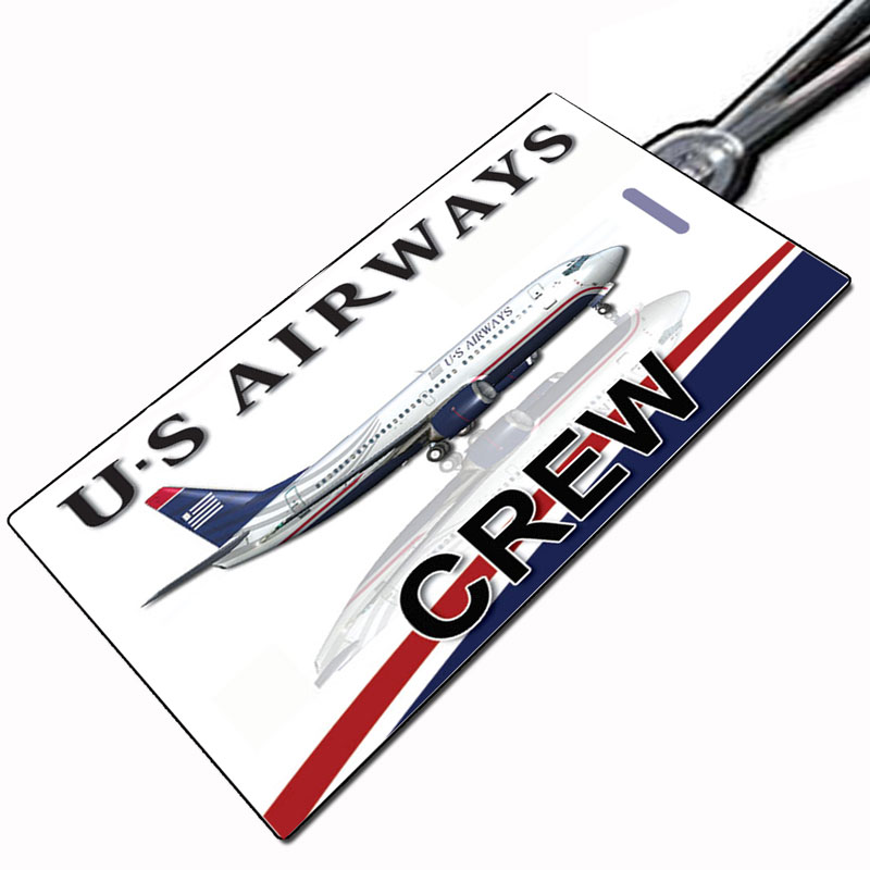 US Airways 737 Crew Tag
